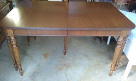 Mahogany dining room table in Naperville, Illinois