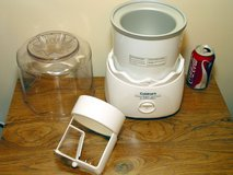 Cuisinart Electric Ice Cream Maker 1.5 Qt Model ICE-20 in Westmont, Illinois