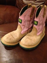 Kid John Deere boots in Rolla, Missouri