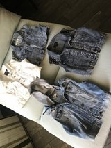 Jean jackets in Fort Irwin, California
