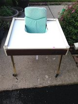 Babee Tenda High Chair with chair pad & Safety Bather in Oswego, Illinois