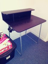 Black wooden /metal desk in Leesville, Louisiana