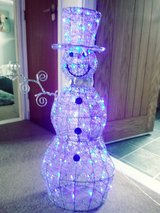 light up snowman one arm missing in Lakenheath, UK