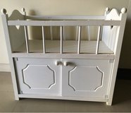 white baby crib and doll dresser toys in Okinawa, Japan