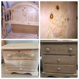Full/Queen Headboard and 2 Nightstands in Bolingbrook, Illinois