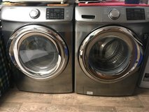 American washer and dryer set in Ansbach, Germany