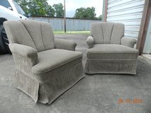 Swivel chairs, set of 2 in Coldspring, Texas