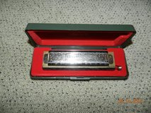 Hohner harmonica in Coldspring, Texas