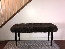 Bench - Beautiful Bench with Faux Fur 4' Long by 2' Tall in Naperville, Illinois