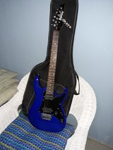 Electric guitar and amp in Plainfield, Illinois
