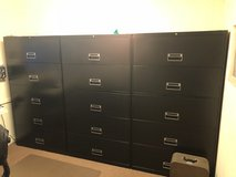 Large filing office cabinets in Joliet, Illinois