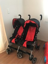 LIGHT SMALL FOLD UP DOUBLE STROLLER in Okinawa, Japan