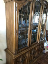 Dining room set - china cabinet table and chairs in St. Charles, Illinois