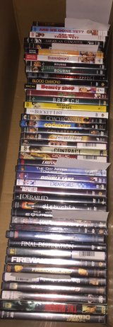 DVD's (titles A - G) price each in Eglin AFB, Florida