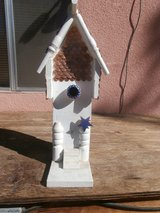 Wooden Bird House in Yucca Valley, California