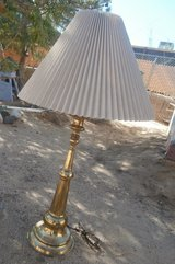 Vintage Brass Lamp in Yucca Valley, California