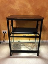 10 Gallon Aquarium/Terrarium, Stand, Heater, and Light in St. Charles, Illinois