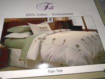 Palm Tree Duvet Kit for Full Bed in Fairfax, Virginia