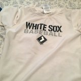 Toddler white sox in Westmont, Illinois