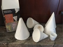 Cone cups in Glendale Heights, Illinois