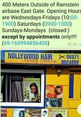 Beauty Saloon Booth Rental with a Master Stylist in Ramstein, Germany