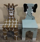 Wooden Animal Chairs - Kids in Sugar Land, Texas