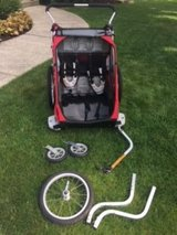 Chariot Cougar 2 bike trailer in Glendale Heights, Illinois