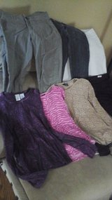 School  Clothes Girls Teen Young Adult Size Small Pants Tops Jacket 8 Garments for $5 ALL in Glendale Heights, Illinois