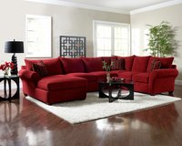 Klaussner Fletcher sectional with matching ottoman in Fort Lewis, Washington