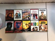 various DVDs in Travis AFB, California