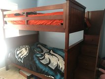 Full/Full Bunk Bed & Dresser with stairs & ladder in Aurora, Illinois