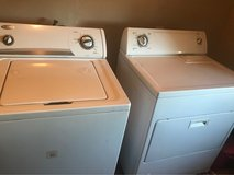 washer and gas dryer in Yucca Valley, California