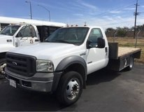 Ford F-550 Diesel Transport with 3 or 4 Car trailer in Travis AFB, California