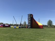 Mobile Spider Mountain Rock Wall Bungee Trampoline in Fairfield, California