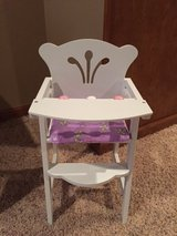 Doll high chair in St. Charles, Illinois