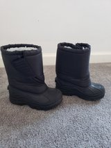 Black Winter Snow Boots sz 13 Toddler in Clarksville, Tennessee