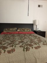 crate and barrel platform bed-king in Elgin, Illinois