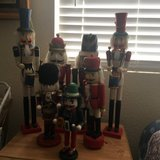 collection of  Seven  Christmas  Nutcrackers    from 1 ft to 2 ft tall in Vacaville, California