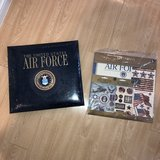 NEW Air Force scrapbook with kit in Okinawa, Japan