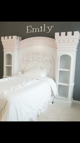 Custom Castle Full Bed and Dresser in The Woodlands, Texas