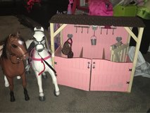 American Girl/Our Generation Horses and Stable in Bolingbrook, Illinois