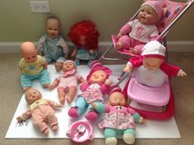 9 baby dolls toy stroller in Oswego, Illinois