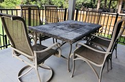 Patio/Outdoor Dining Table & 6 Chairs in Fairfax, Virginia