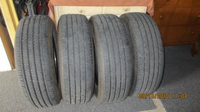 Four P255/70R17 Bridgestone Dueler H/T Tires. Like new with 4429 miles on them.536-6681 in Lawton, Oklahoma