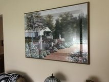 Large Picture-English Cottage w/Flowers and Yard in Philadelphia, Pennsylvania