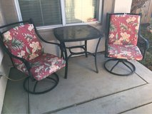 patio two chairs and table in Fairfield, California