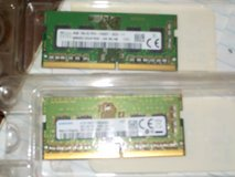 RAM memory sticks, DDR4 in Byron, Georgia