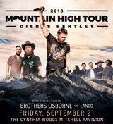 (2/4) DIERKS BENTLEY 6th Row/Aisle Concert Tickets - Fri, Sept 21 - BELOW COST! in The Woodlands, Texas