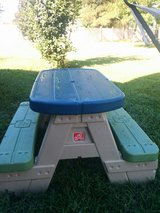 picnic table for kids in Warner Robins, Georgia