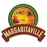 Margaritaville® Plane and Palm Wall Art Sign in Red in Chicago, Illinois